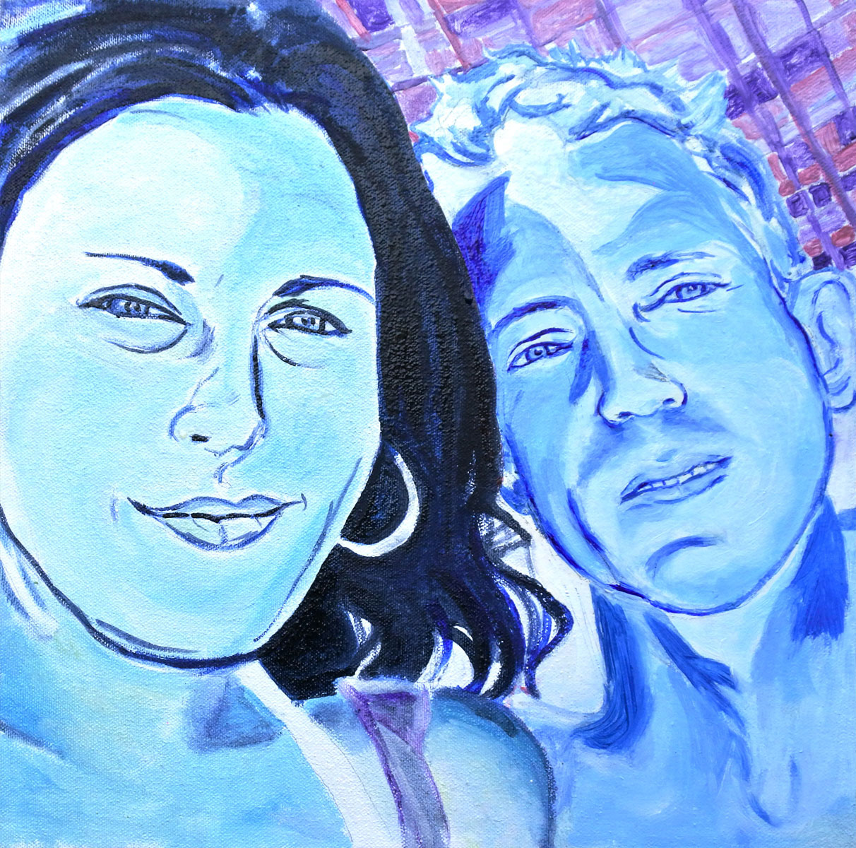 amber and jerry painting
